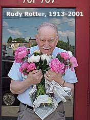 Rudy Rotter with Peonies