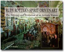 Rudy Rotter's Spirit Driven Art book